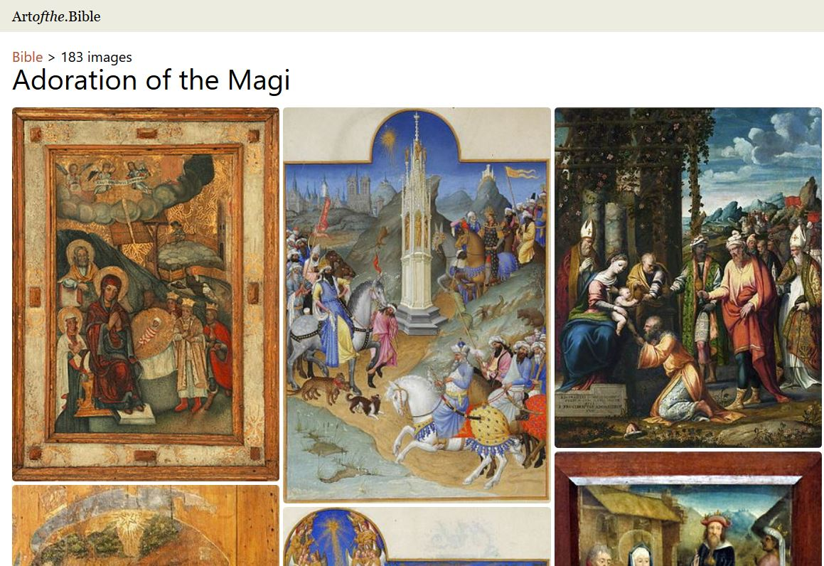 Visit the Art of the.Bible website.