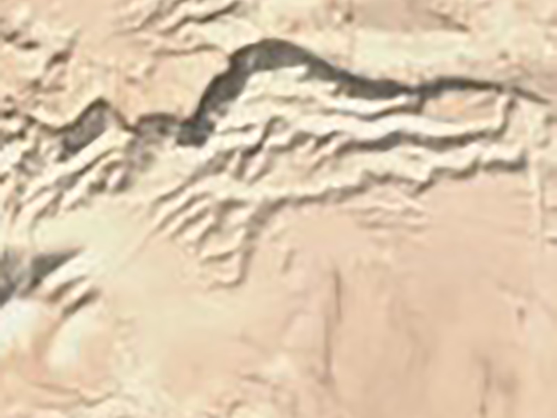 A ten-meter Sentinel-2 satellite photo near the Dead Sea.