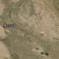 Map of Accad