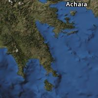 Map of Achaia