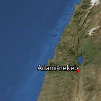 Map of Adami-nekeb