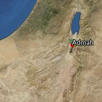 Map of Admah