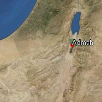 Map of Admah