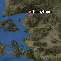 Map of Adramyttium