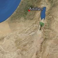 Map of Adullam