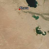 Map of Ahava