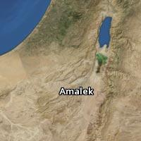 Map of Amalek