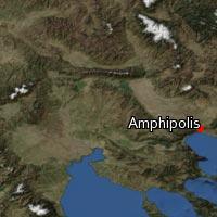 Map of Amphipolis