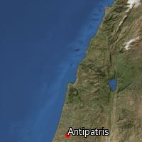 Map of Antipatris