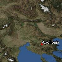Map of Apollonia