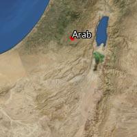 Map of Arab