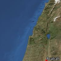 Map of Arabah