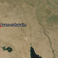 Map of Aram-naharaim