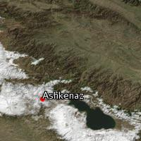 Map of Ashkenaz