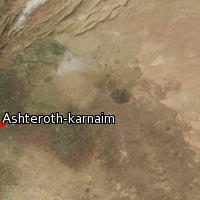 Map of Ashteroth-karnaim