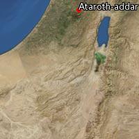 Map of Ataroth-addar