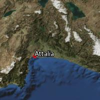 Map of Attalia