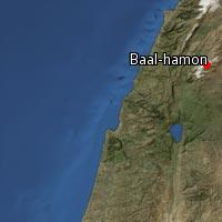 (Map of Baal-hamon)