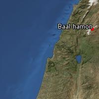 (Map of Baal-hamon)
