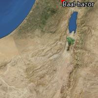 Map of Baal-hazor