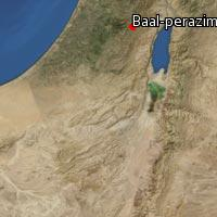 Map of Baal-perazim