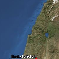 Map of Baal-shalishah