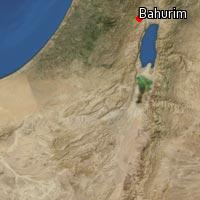 (Map of Bahurim)