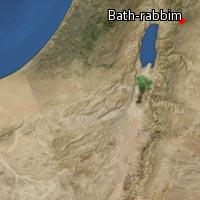 Map of Bath-rabbim