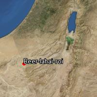 Map of Beer-lahai-roi