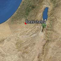 Map of Beersheba