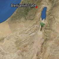 Map of Benjamin Gate
