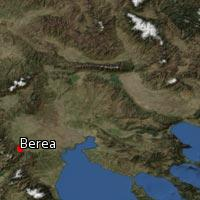 Map of Berea