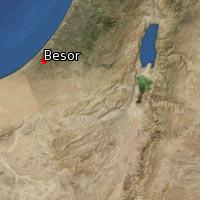 (Map of Besor)