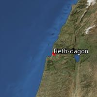 (Map of Beth-dagon (2))
