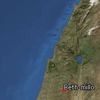 Map of Beth-millo