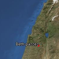 Map of Beth-pazzez