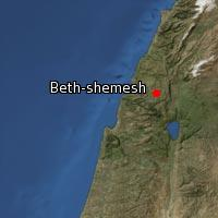 (Map of Beth-shemesh (3))