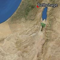 Map of Bethphage