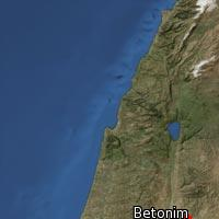 Map of Betonim