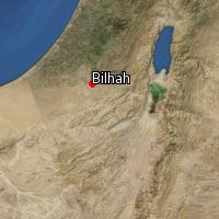 Map of Bilhah