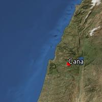 Map of Cana