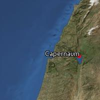 (Map of Capernaum)