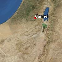 Map of Carmel
