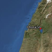 Map of Chorazin