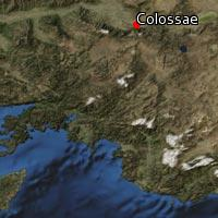 Map of Colossae
