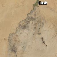 Map of Cush