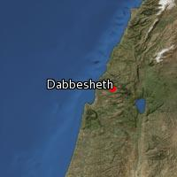 Map of Dabbesheth