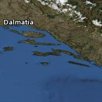 Map of Dalmatia