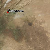 Map of Damascus