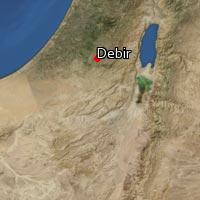 (Map of Debir (1))